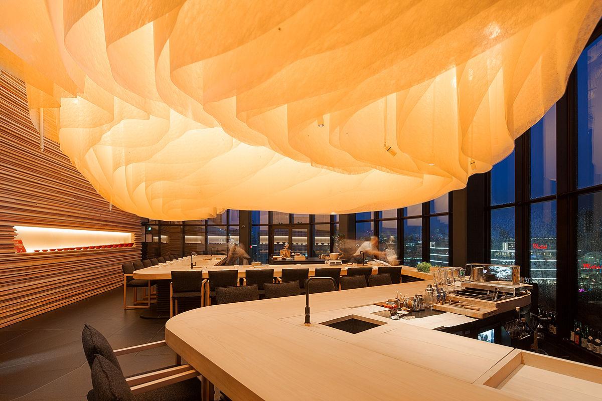 Japanese Restaurant Endo at the Rotunda in London