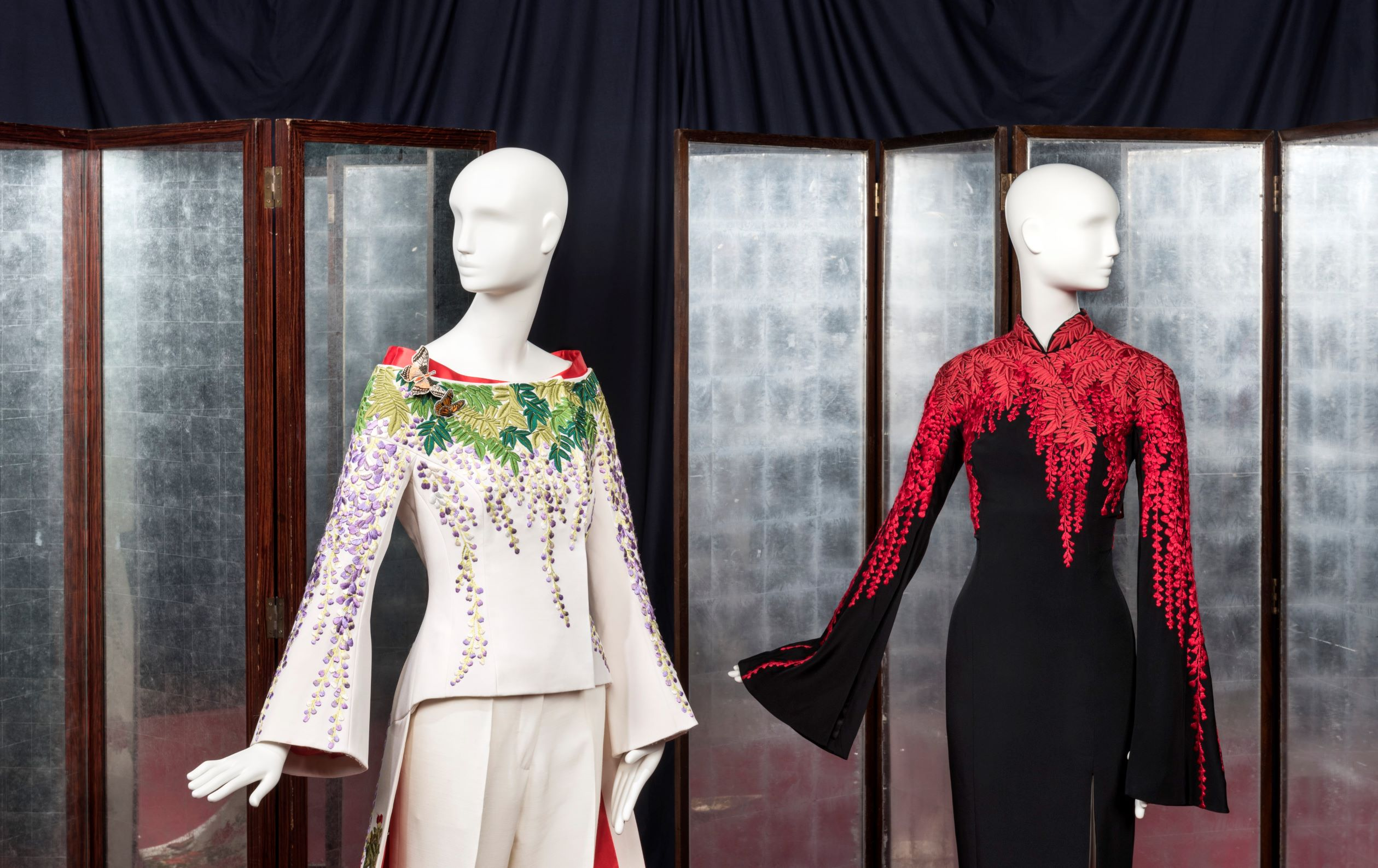 Embroidered looks from the L'Wren Scott online sale at Christie's.