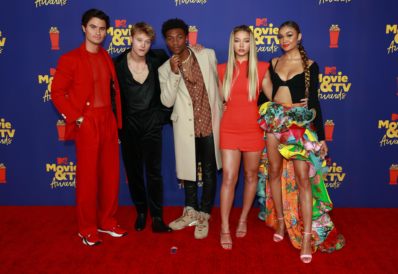 جوایز فیلم و تلویزیون MTV 2021 عکسهای فرش قرمز