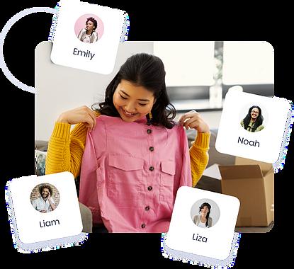 resale, thrift, online shopping, e-commerce, apparel, brand, fashion