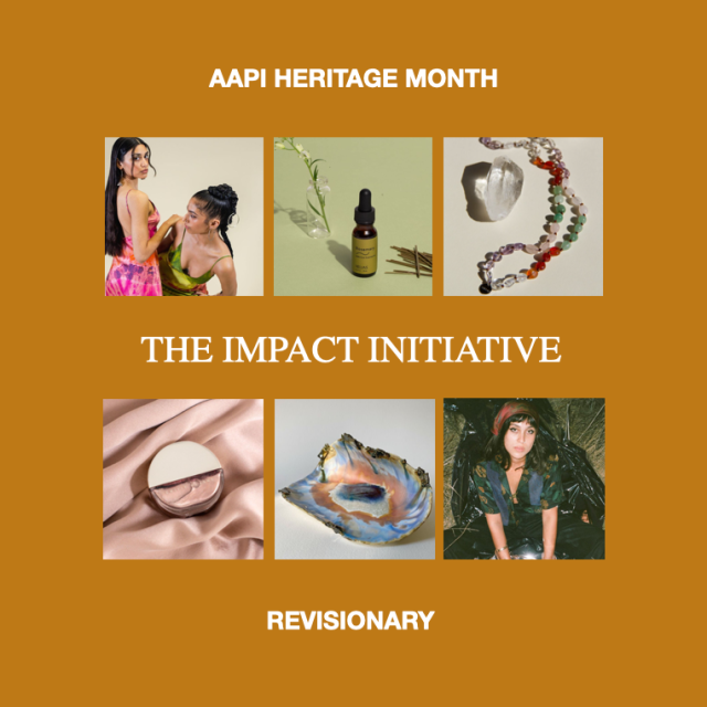AAPI Heritage Month Impact Initiative by Revisionary