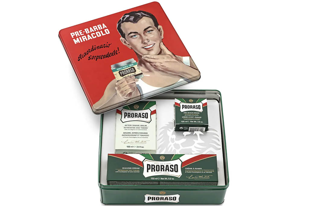 proraso shaving kit, best fathers day gift ideas