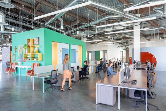 Approximately 55 ModCloth employees will be working out of Nogin's Tustin, Calif. headquarters, pictured here, and ModCloth's Pittsburgh, Pa. call center.