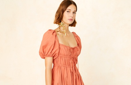 Ulla Johnson was cited as a bestseller at several stores. Here, a dress from Nordstrom.