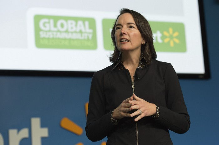 Walmart, Kathleen McLaughlin, chief sustainability officer, sustainability, supply chains, retailer, fashion, apparel