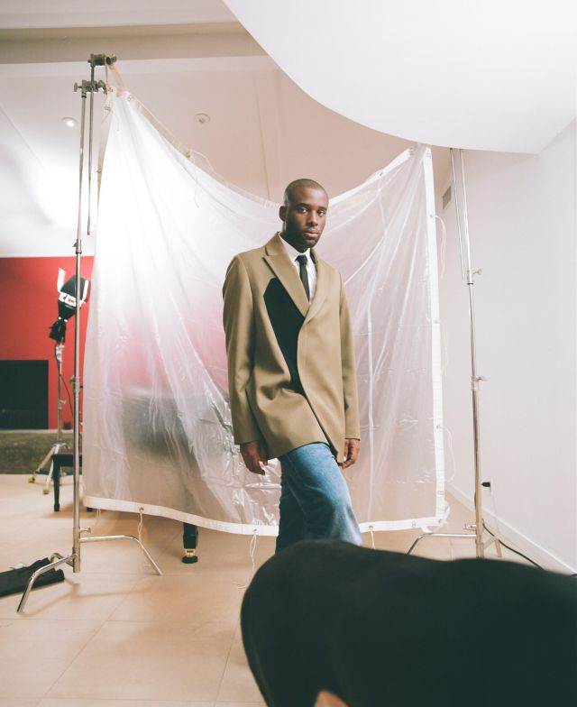 A preview look from the 424 men's spring 2022 collection.