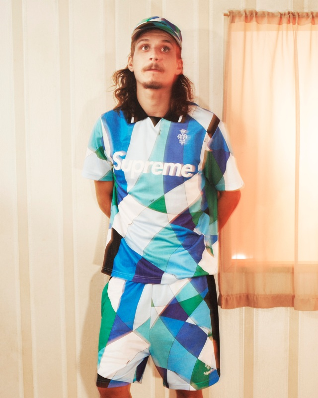 The Supreme/Emilio Pucci capsule collection dropping on June 10.