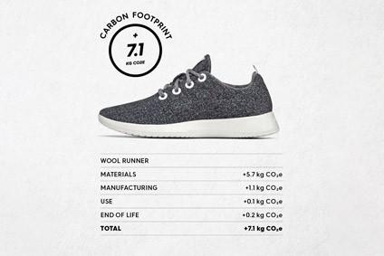 Allbirds, carbon footprint, labeling, sustainable, footwear