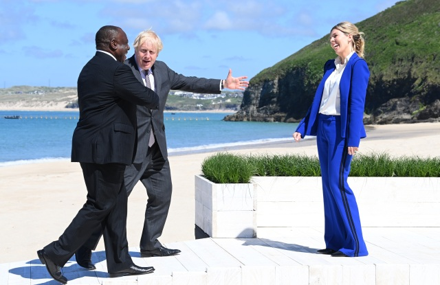 Carrie Symonds Dons Amanda Wakeley Suit from My Wardrobe HQ at G7.jpg