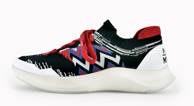 Missoni sustainable sneaker developed in collaboration with ACBC