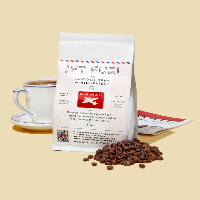 Air Mail's Jet Fuel coffee