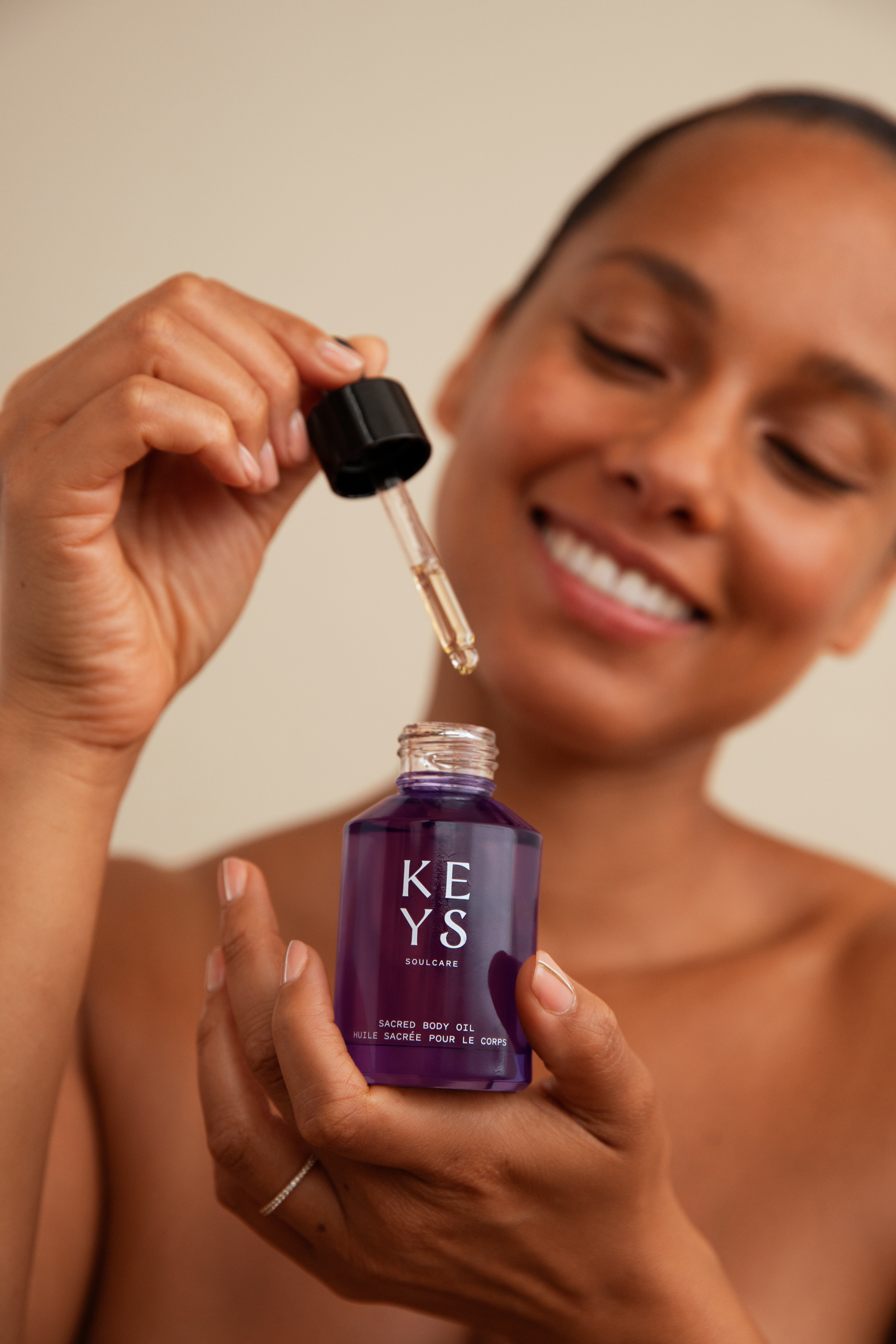 Alicia Keys is launching body care.