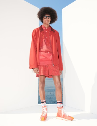 A look from Andrea Pompilio x Harmont & Blaine Spring 2022 Capsule Collection
