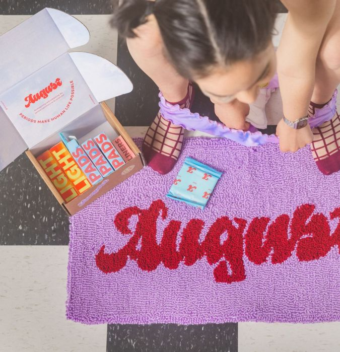 Period Products Brand August Secures Nearly $2 Million as the Menstrual Industry Continues to Blossom