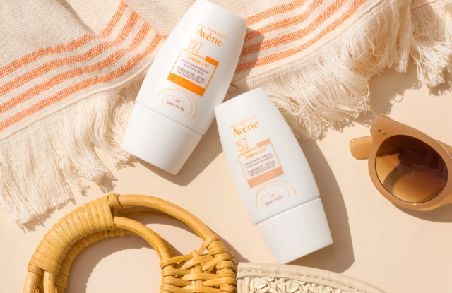 best sunscreens for sensitive skin, Avène Solaire UV Mineral Multi Defense Sunscreen Fluid SPF 50