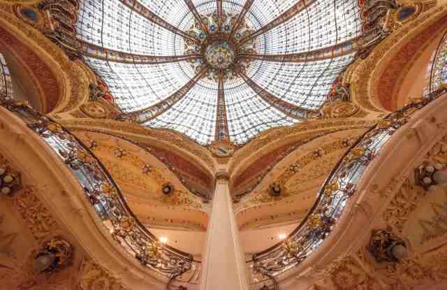 Galeries Lafayette's historic Boulevard Haussann flagship