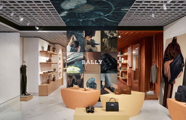 Bally's store in New York's Meatpacking District.