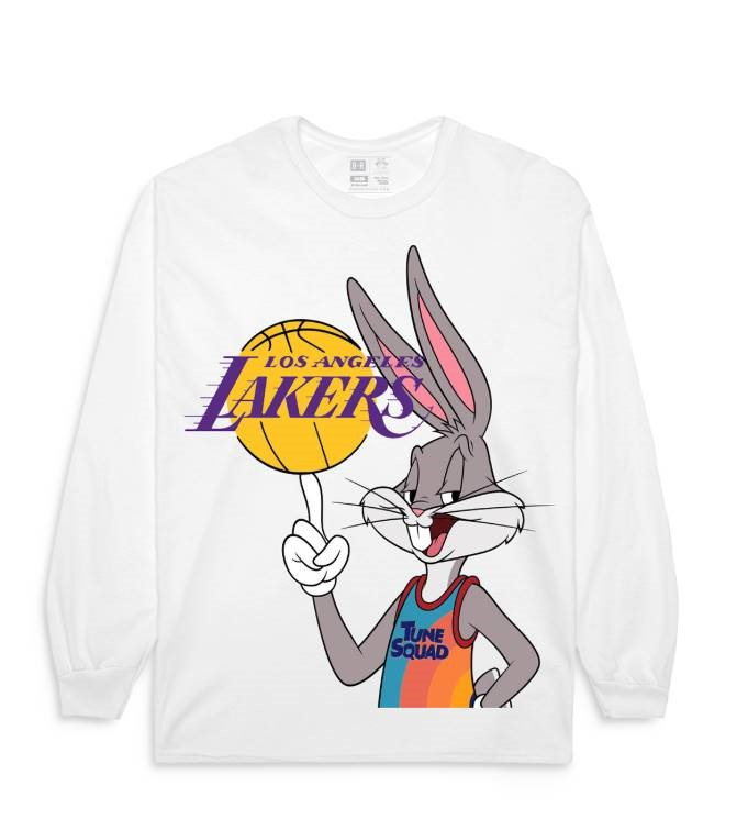 """A look from the Bleacher Report x """"Space Jam: A New Legacy"""" collection."""