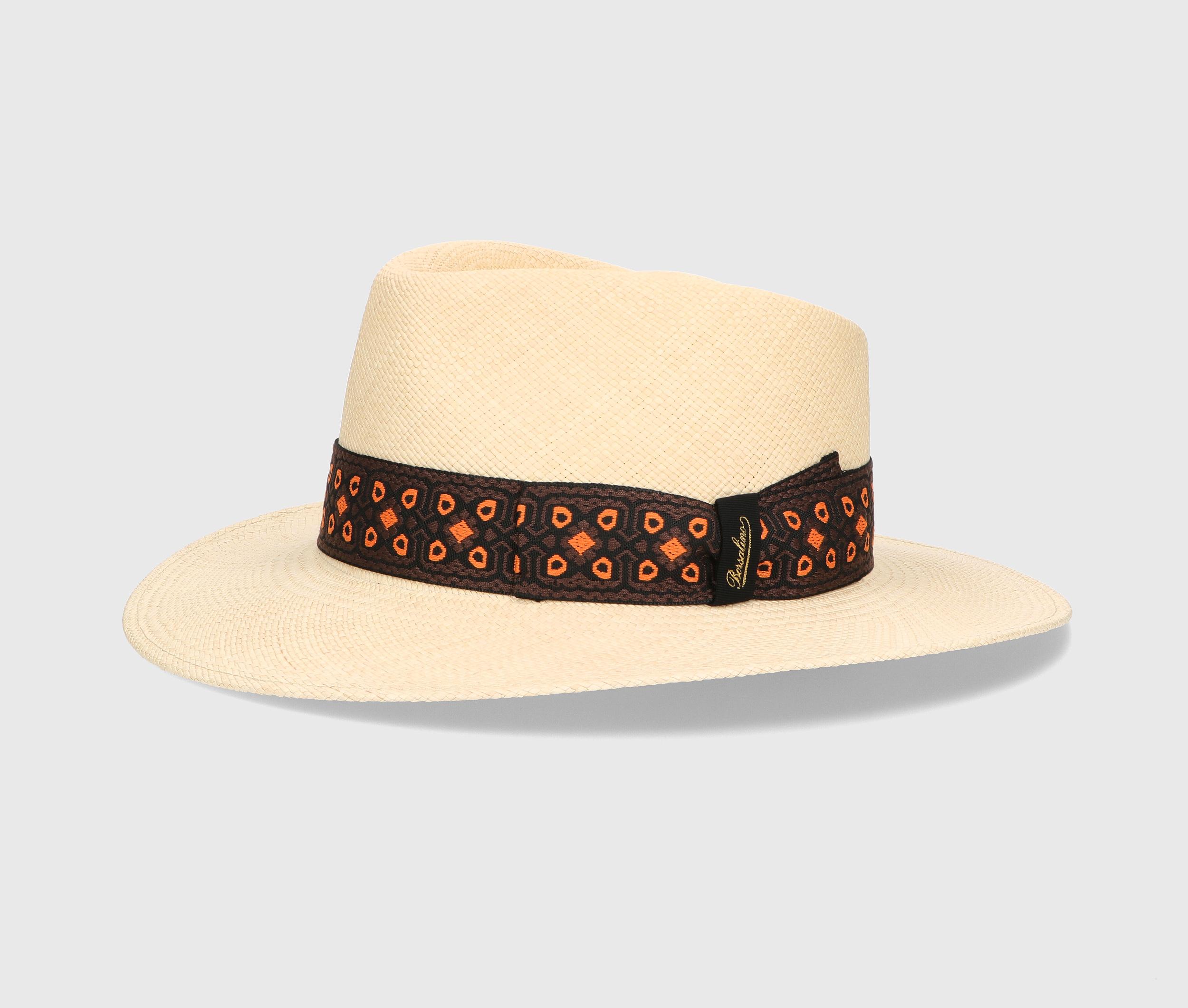 A Borsalino hat for spring 2022.