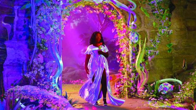 "Breonna Taylor in ""Breonna's Garden."""