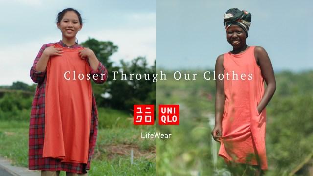 uniqlo closer through our clothes film