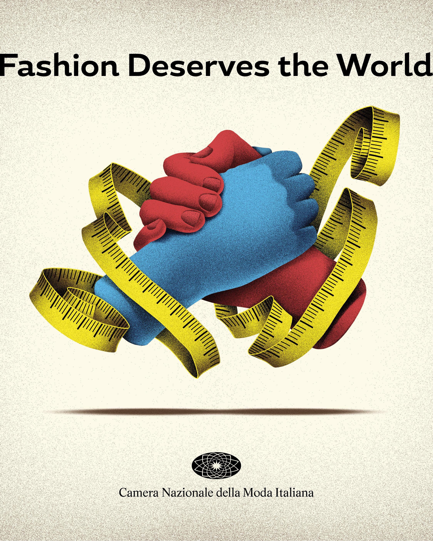 """The Camera Nazionale della Moda Italiana """"Fashion Deserves the World"""" project."""