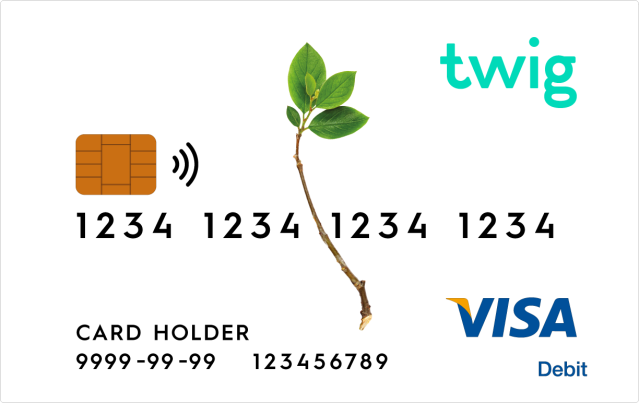 The Twig credit card