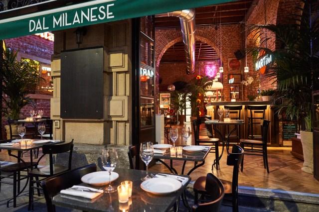 "Luca Guelfi's new ""Dal Milanese"" restaurant in Milan."