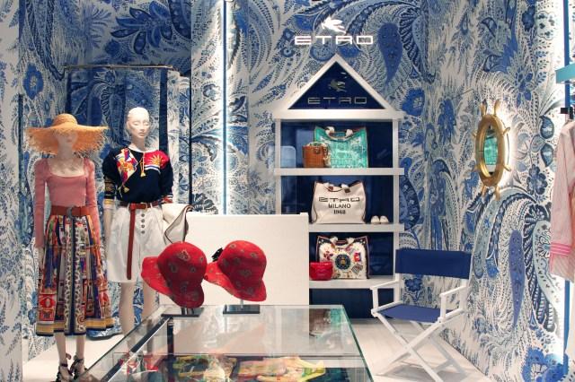 Etro summer pop-up shop in Forte dei Marmi