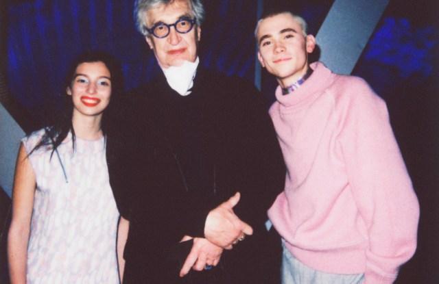 Gaia Girace, Wim Wenders,Felix Sandman