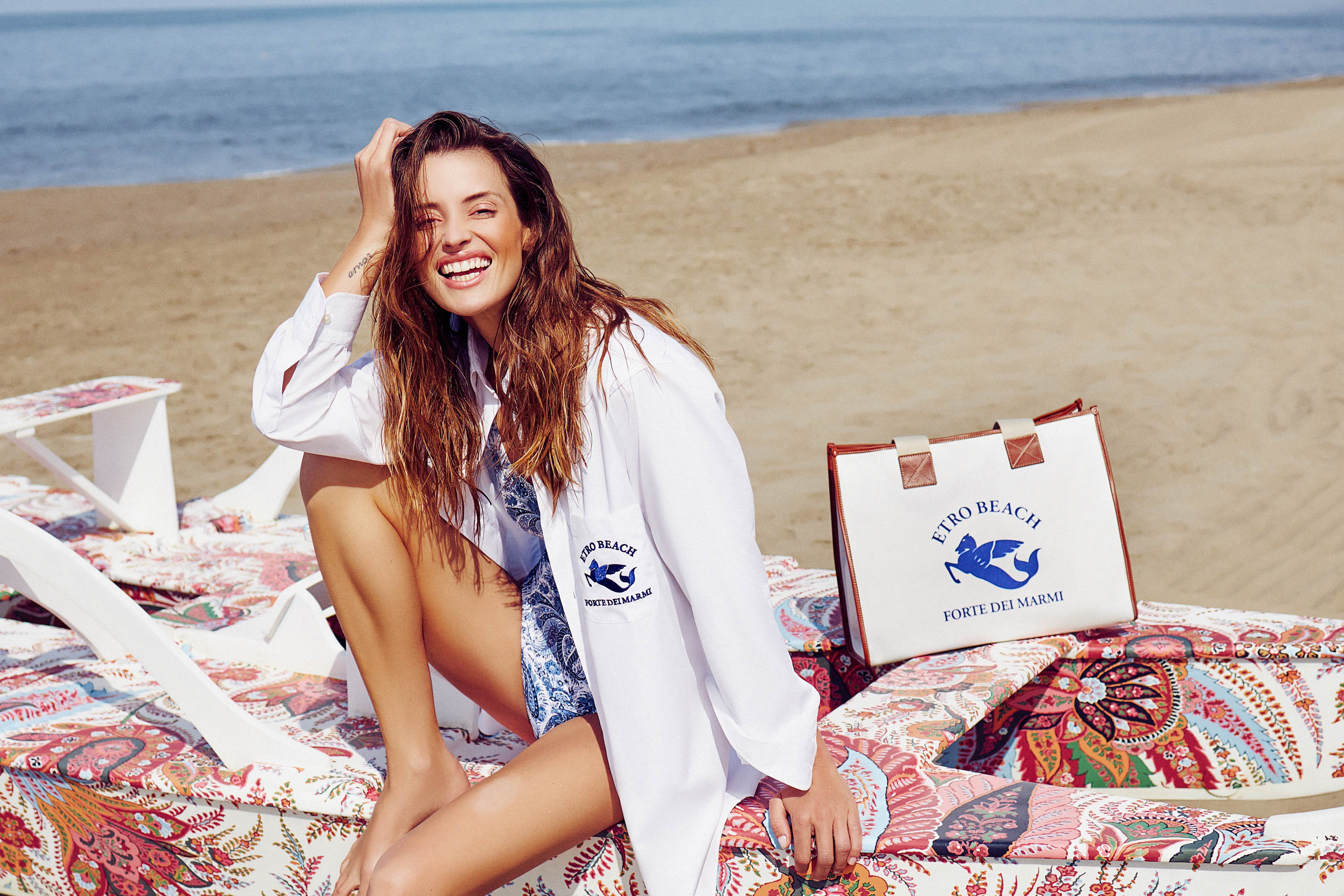 Etro capsule collection for the Forte dei Marmi pop-up store