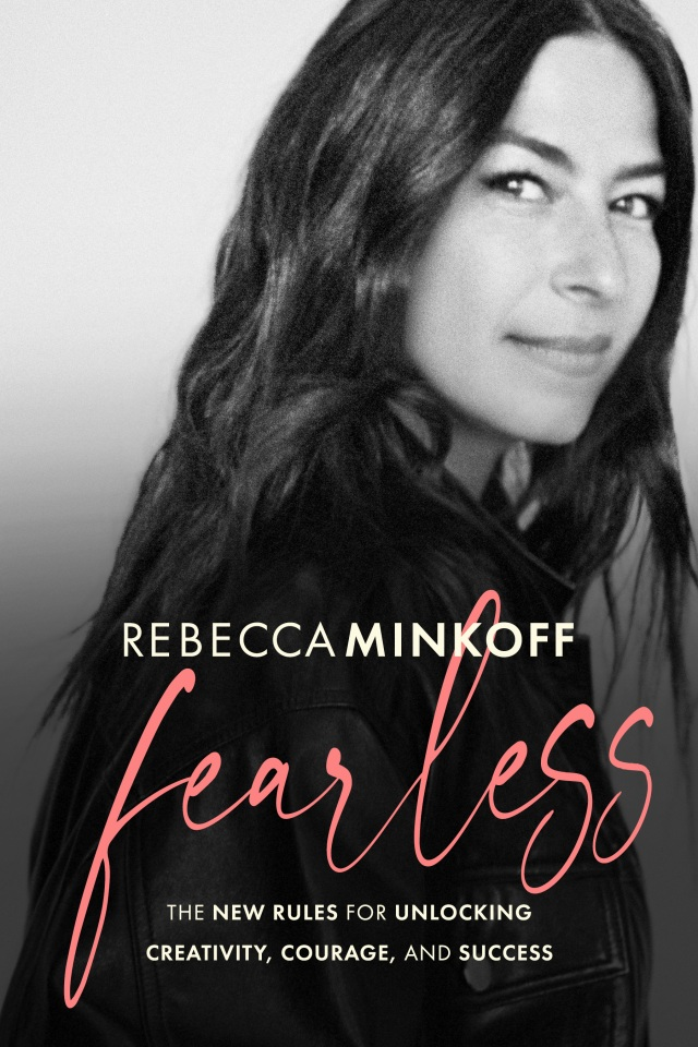 """The cover of Rebecca Minkoff's new book, """"Fearless."""""""