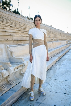 Dior Channels Olympic Spirit for Cruise Show in Greece