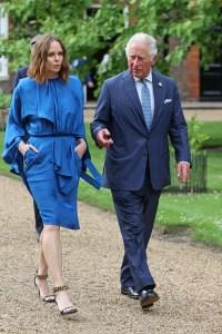Stella McCartney et le prince Charles, prince de Galles à Cornwall lors du sommet du G7