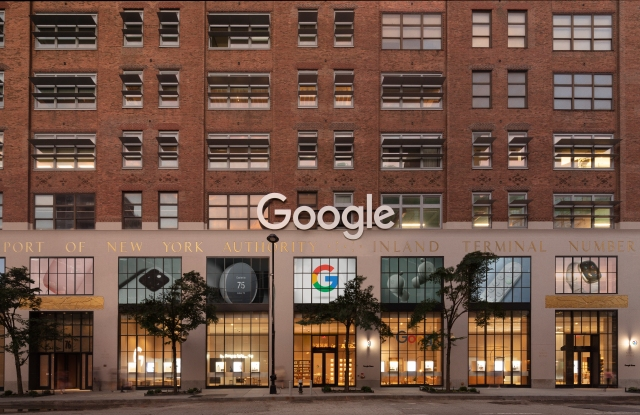 Google unveiled its first retail store in New York City's Chelsea neighborhood, in the ground floor of its NYC headquarters.