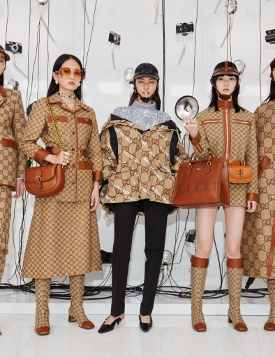 Looks from the Gucci Aria show, with 13 new looks added to the 100th-anniversary collection.