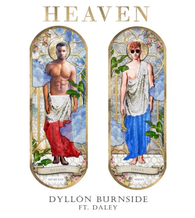 """Heaven"" single cover"