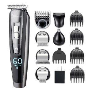 Hatteker Hair Clipper Beard Trimmer Kit, best cordless hair trimmers