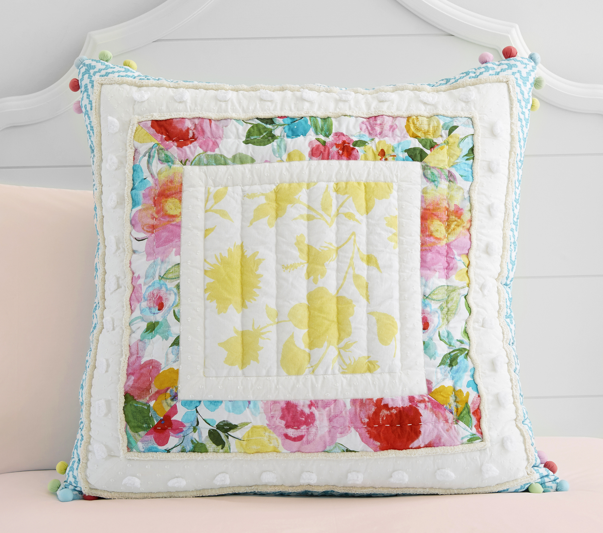 A Hope for Flowers by Tracy Reese x Pottery Barn Teen pillow.