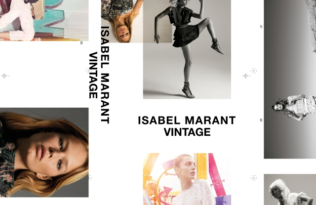 The Isabel Marant Vintage site will take clothes in exchange for brand vouchers.