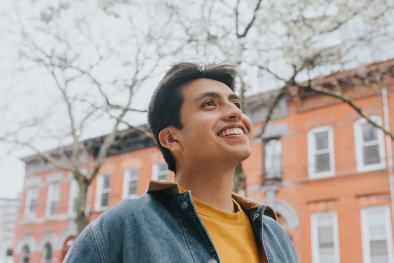 Isaias Hernandez is the creator of Queer Brown Vegan where he makes accessible environmental education content.