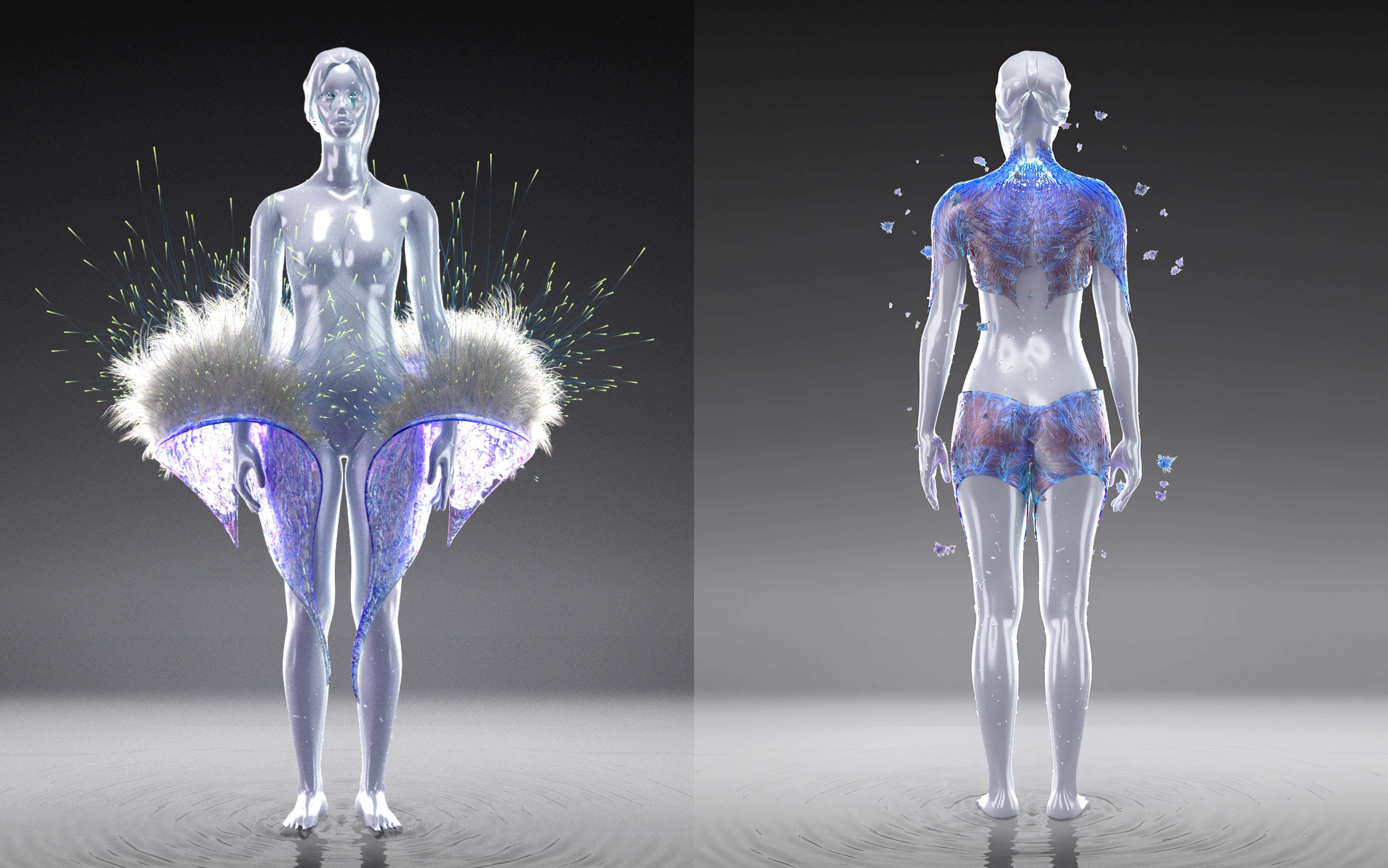 Auroboros' biomimicry designs