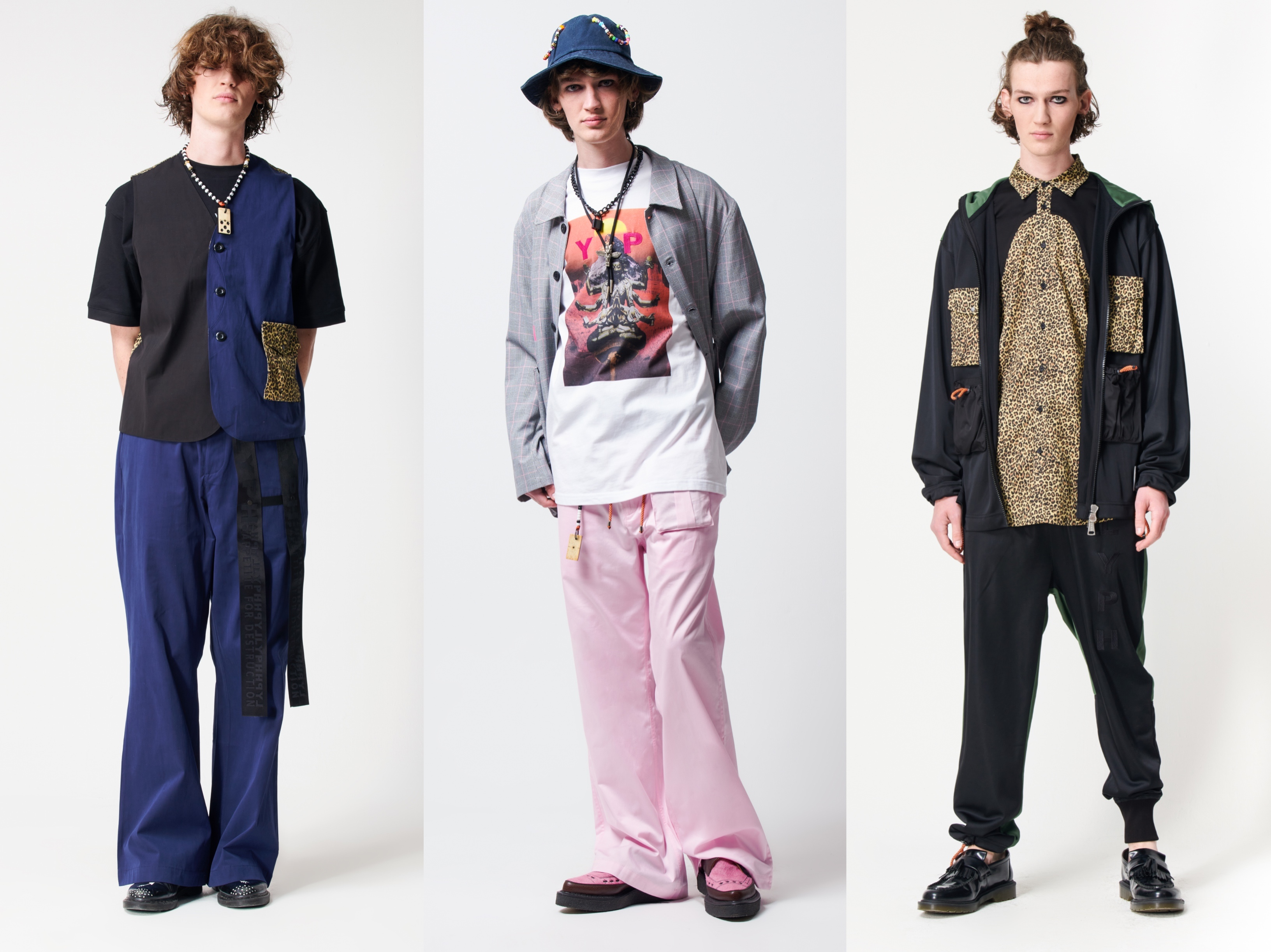 Three looks from LYPH spring 2022 collection