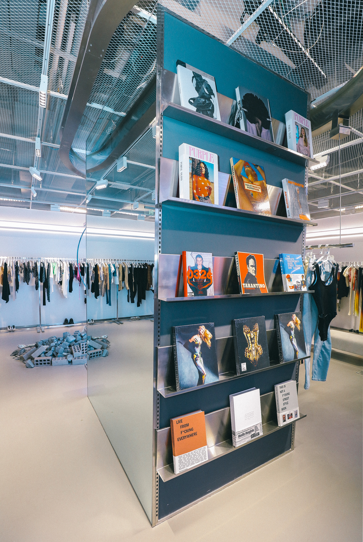 Inside of ENG store in Shanghai's TX Huaihai