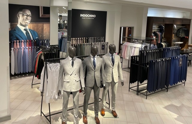 The Indochino shop at Nordstrom in the Towson Town Center in Towson, Md.