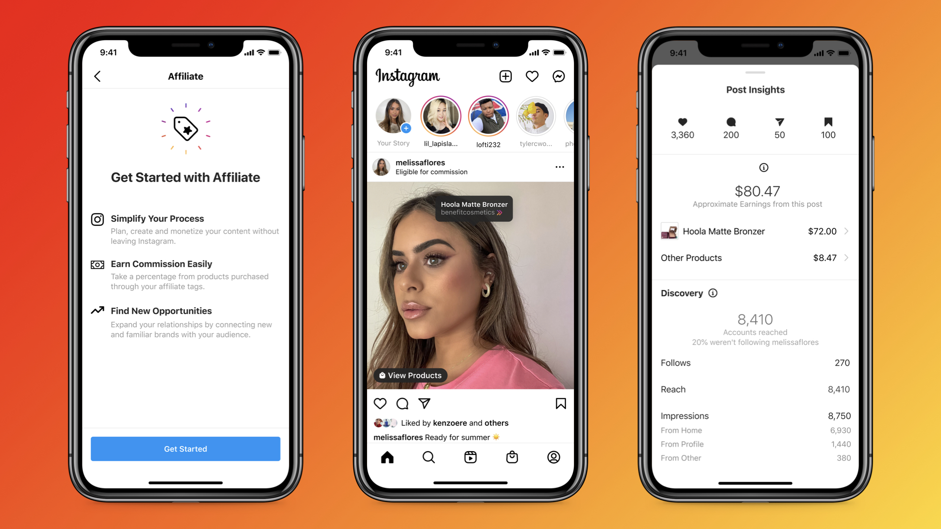 Instagram is testing a new affiliate linking tool for creators.