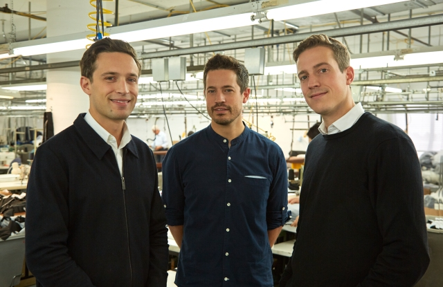 Jean-Philippe, François-Xavier and Guillaume Robert bought Want Les Essentiels.
