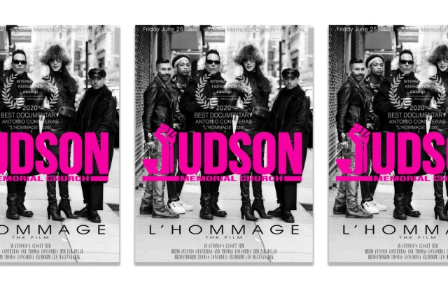 """The film poster for """"L'Hommage."""""""