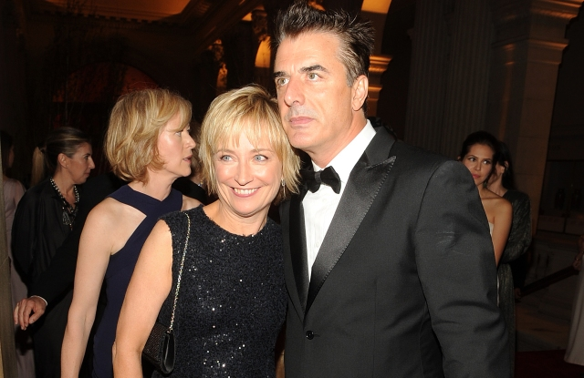 Kate White and Chris Noth attend the Metropolitan Museum of Art's 2010 Costume Institute gala.