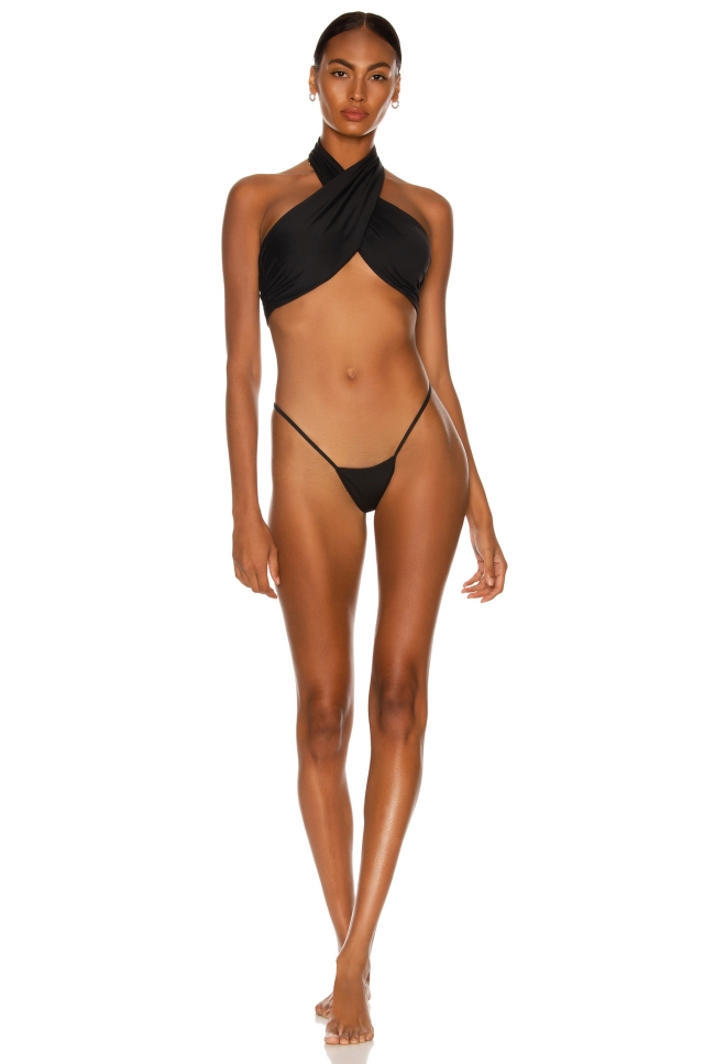 A look from LaQuan Smith Swimwear